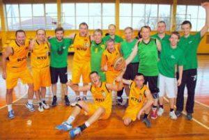KTU darbuotojų krepšinio turnyro nugalėtojai – Cheminės technologijos fakulteto komanda