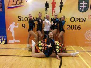KTU sportininkės tarptautinėse aerobinės gimnastikos varžybose užėmė IV vietą