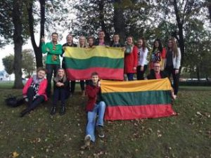 Studentai – už Lietuvą!