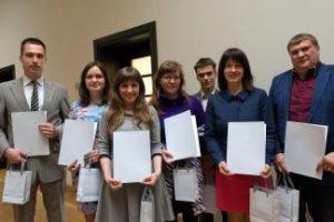 KTU mokslinių darbų autoriams – Lietuvos mokslų akademijos premijos ir pagyrimo raštai