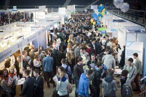 """Didžiausios Baltijos šalyse KTU """"WANTed"""" karjeros dienos 2018 diktuoja ateities darbo rinkos tendencijas"""