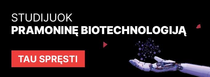 pramonine biotechnologija BA