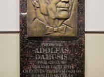 Adolfo Damušio memorialinės lenta
