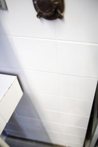 baltų glazūruotų plytelių sienų panelių tipas 2