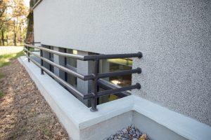 fasadų apdaila ir puošyba – tinko medžiagos tipas 3