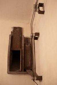 keramikinių ventiliacijos angų grotelių tipas 1
