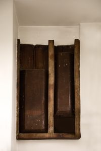 keramikinių ventiliacijos angų grotelių tipas 2