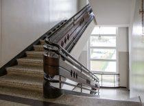 pagrindiniai vidaus teraco laiptai