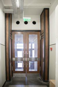 pietinio vidinio tambūro durys