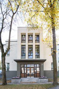šiaurinio fasado rizalitas