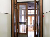 šiaurinio vidinio tambūros durys