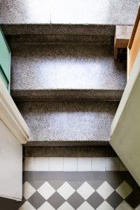 teraco laipteliai antstatuose