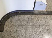 teraco plytelių su juodo teraco apvadu ir grindjuoste danga 2