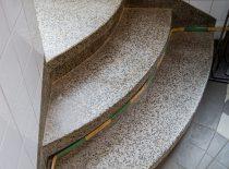 užapvalinti teraco laipteliai su grindjuostėmis 2