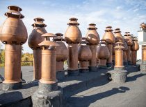 variniai ventiliacijos kaminėliai - 2